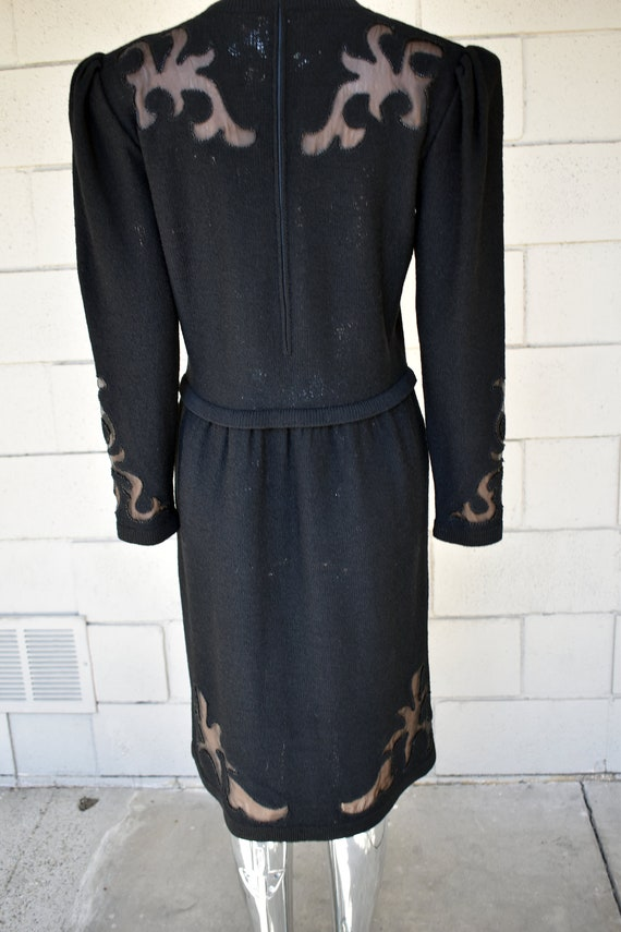 Adolfo Boucle 1990s Dress from I Magnin - image 7