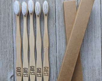 Eco friendly bamboo toothbrushes, Personalized Toothbrush, Custom name wooden toothbrush, Bamboo adult toothbrush