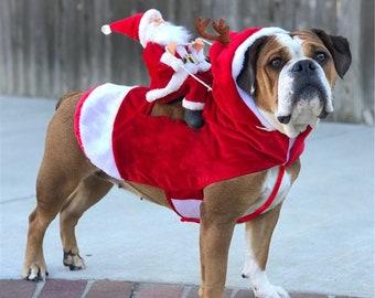 Christmas Dog Costumes.Funny Dog Costume Etsy