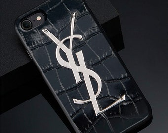 3dc21350ae3 Cases YSL #5 iPhone X/XS Max XR 7 8 Plus 6S Case Cover Samsung S8 S9 S10  Plus Galaxy Note 8 9 Case Cover