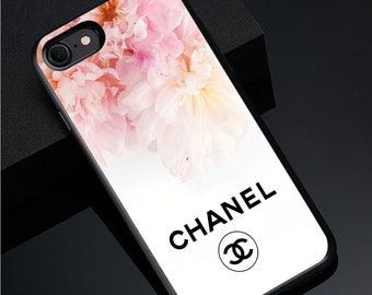 7c5b2836a60ab3 Cases Chanel Flowers iPhone X/XS Max XR 7 8 Plus 6S Case Cover Samsung S8  S9 S10 Plus Galaxy Note 8 9 Case Cover