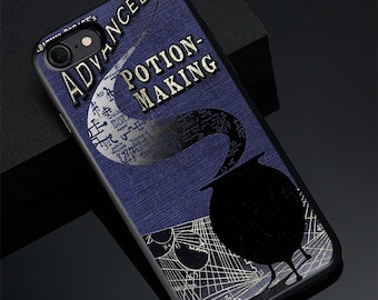 d0465ed49dd Cases Harry Potter Book advanced potion making iPhone X/XS Max XR 7 8 Plus  6S Case Cover Samsung S8 S9 S10 Plus Galaxy Note 8 9 Case Cover