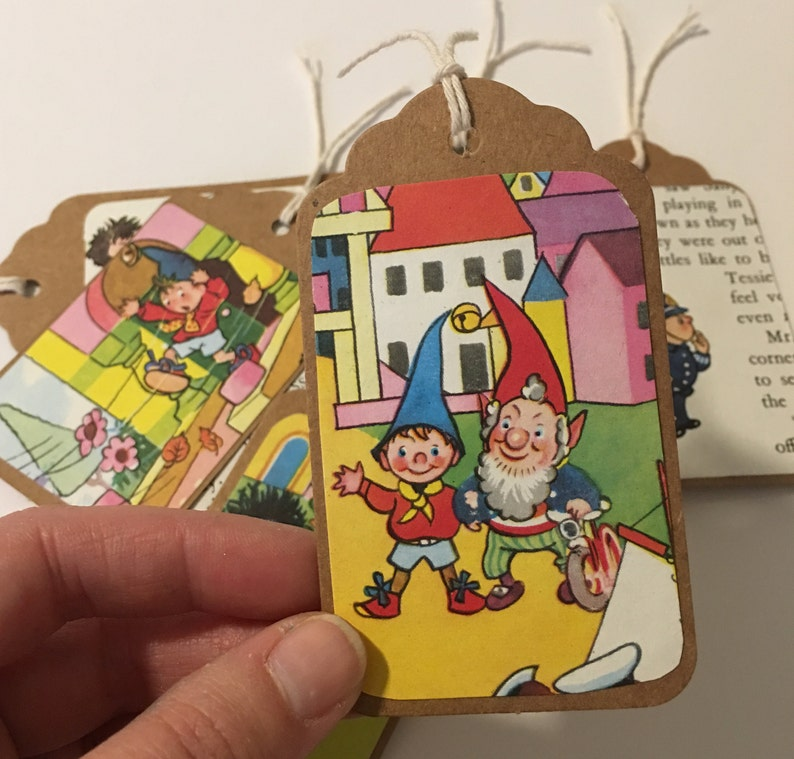 Handcrafted NODDY  Book DOLLS HOUSE