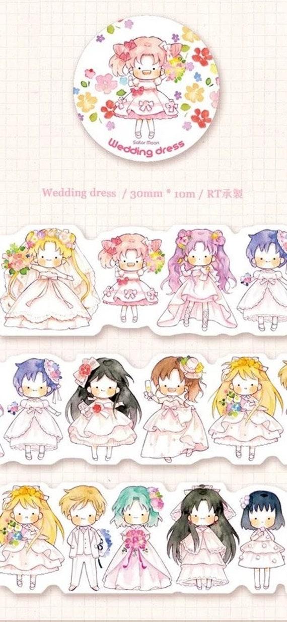 40cm Sample SAMPLE Only Exclusive Hayama Sailor Moon in Kimono 30mm Washi Tape