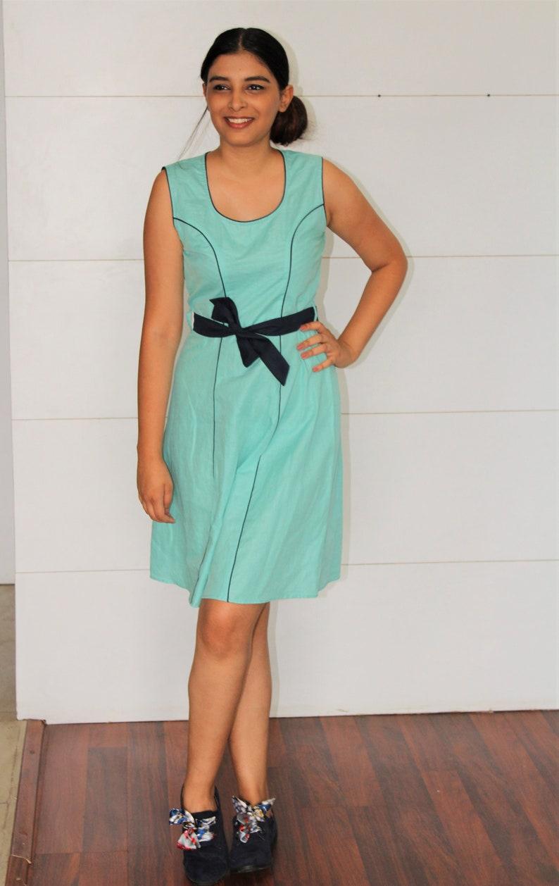 Linen midi dress  long summer dress  linen summer dress  linen shift dress  linen slip dress