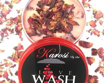 LOVE WASH 140g Moisturising Body Melt- body wash natural organic