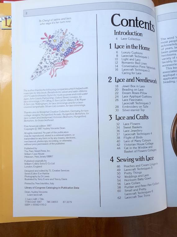 Book Learn Lacecraft Audrey Vincente Dean