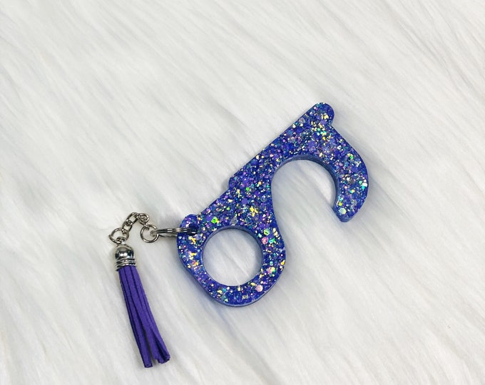 Corona Virus Helper! Door grabber button pusher!  Keep safe with this handy key chain!