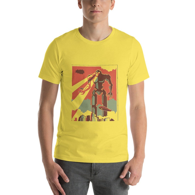 Ned Leeds Giant Robot Attacks New York Shirt image 0