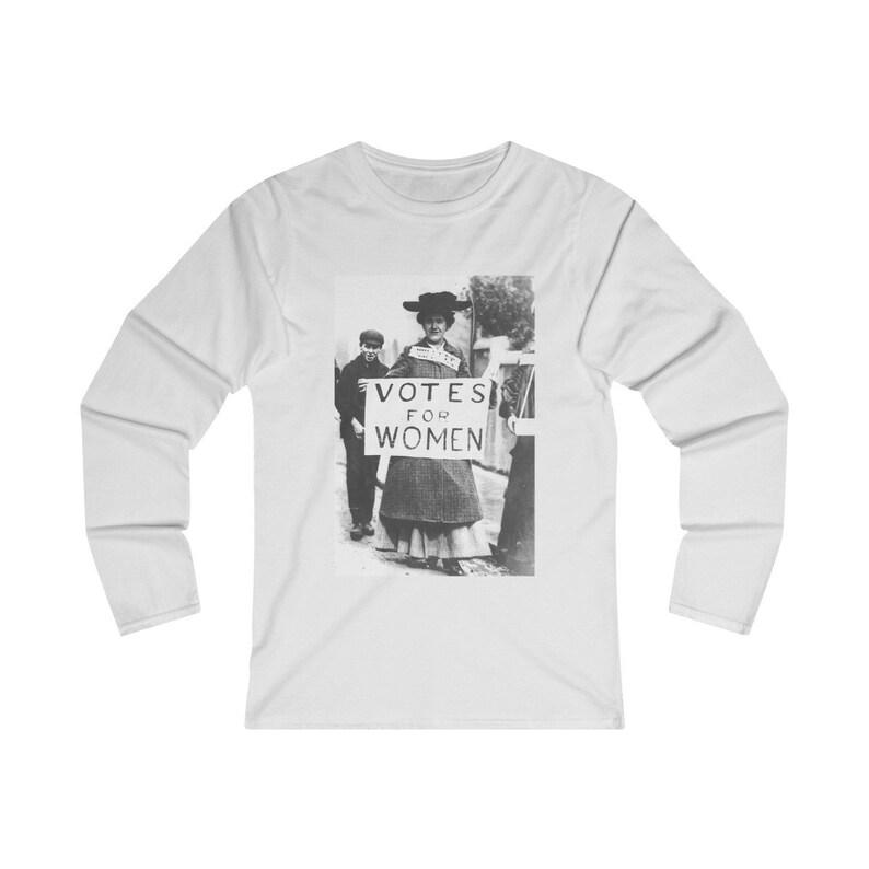 MJ's Women's Suffrage  Long Sleeve Shirt image 0