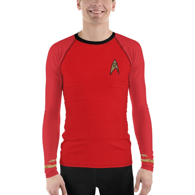 Mr. Scott's TOS Uniform Athletic Shirt image 0