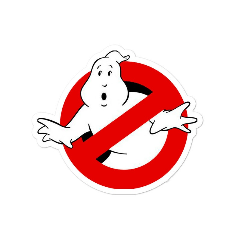 Ghostbusters No-Ghost logo Sticker image 0