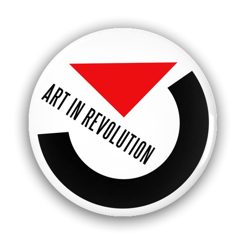 Marty Mcfly'S Art In Revolution Pin-Back Button image 0