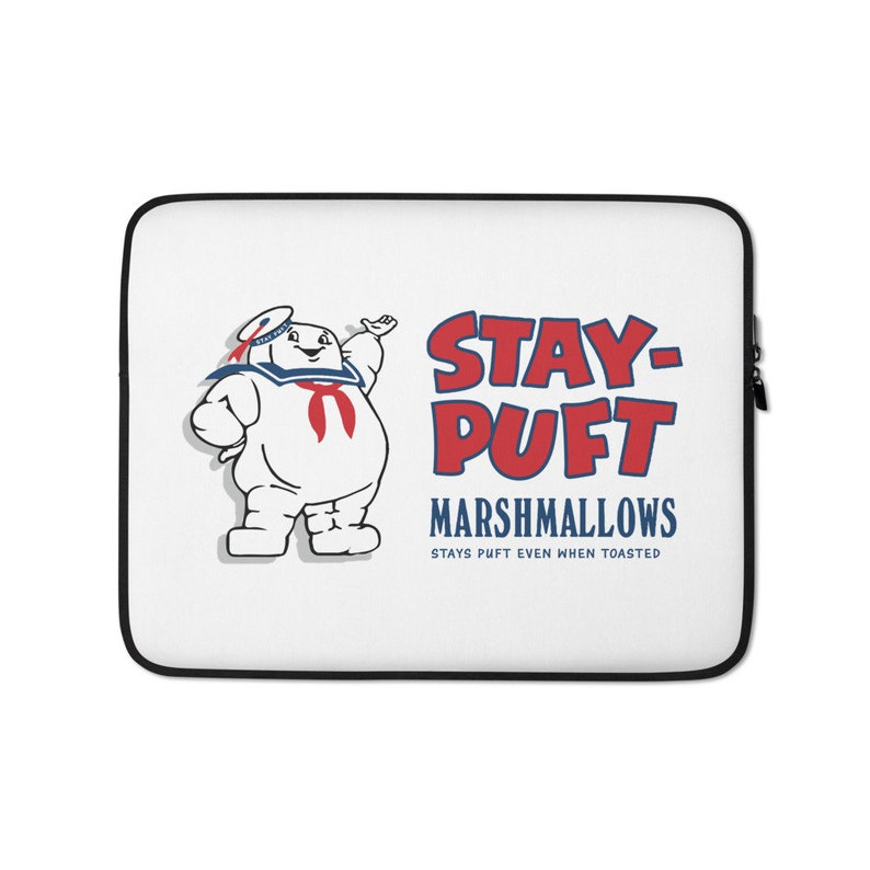 Stay Puft Marshmallows Laptop Sleeve  15 in image 0