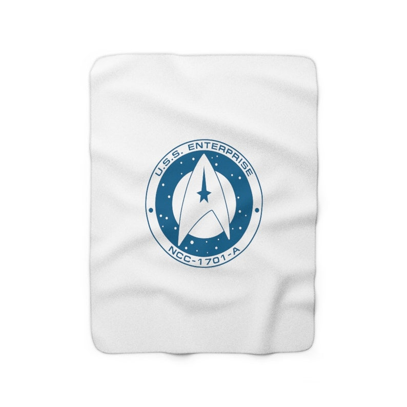 USS Enterprise NCC-1701-A  Fleece Blanket image 0