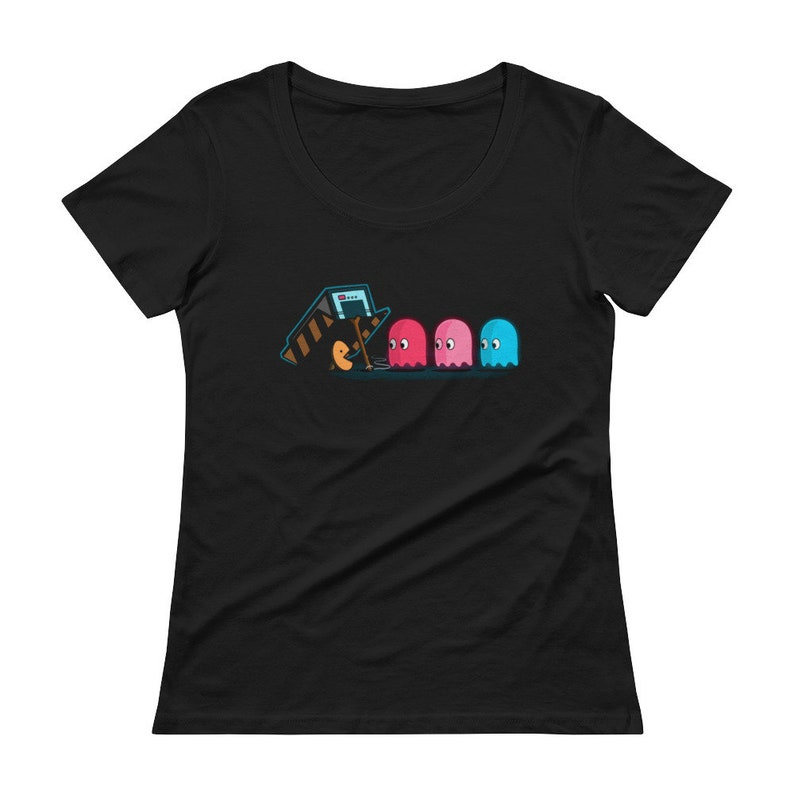 The Ghost Trap Ladies' Scoopneck Shirt image 0