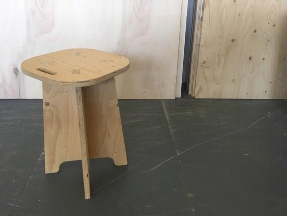 Terrific Diy Flat Pack Stool Theyellowbook Wood Chair Design Ideas Theyellowbookinfo