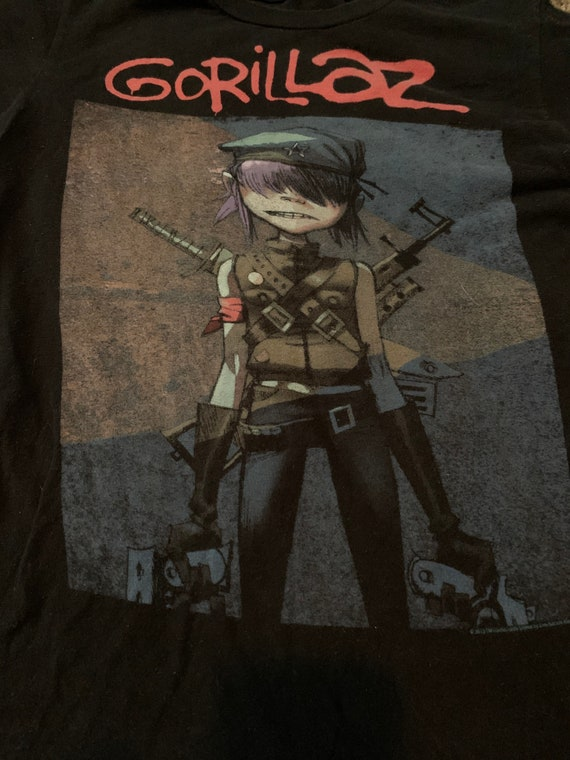 Gorillaz T-shirts Tultex Tag - Adult Size S -