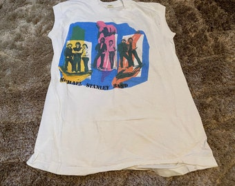 Michael Stanley Band Live Tour 1980s Tee Adult Size M Cutt off Sleeve Screen Star