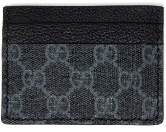 f310a5ee54c31 Gucci Card Holder (5 slot) Black & Gray