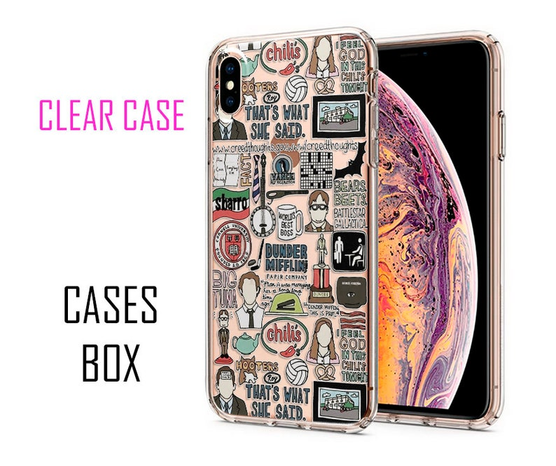 best website 580f2 eb8fe Gifts Prints The Office Tv Show iPhone case iPhone XS Max case iPhone XR  case iPhone 7 Plus case iPhone 8 case 6 Plus 5 case Google Pixel