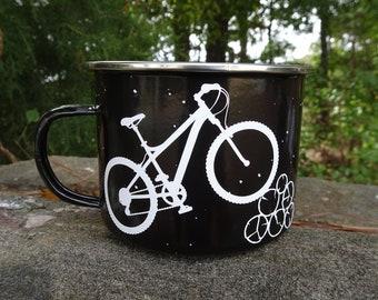 Life Behind Bars is Better Than A Day At Work Cycling Road Bike Fine China Mug
