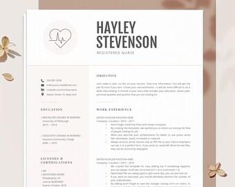 Nurse resume | Etsy