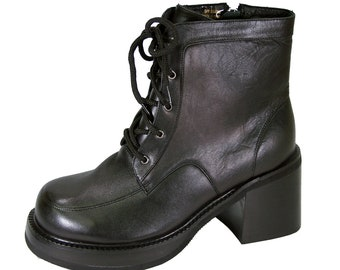 0e6dcd789a8 Wide sizes boots   Etsy