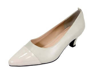 cc90959ee3078 PEERAGE Arlene Women Wide Width Casual Comfort Mid Heel Dress Shoes for  Wedding, Prom, Evening, Work