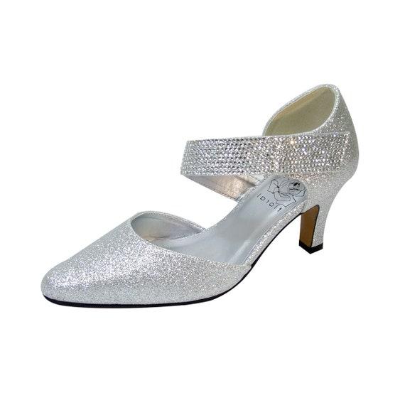FLORAL Sarah Bridal Shoes Women Wide