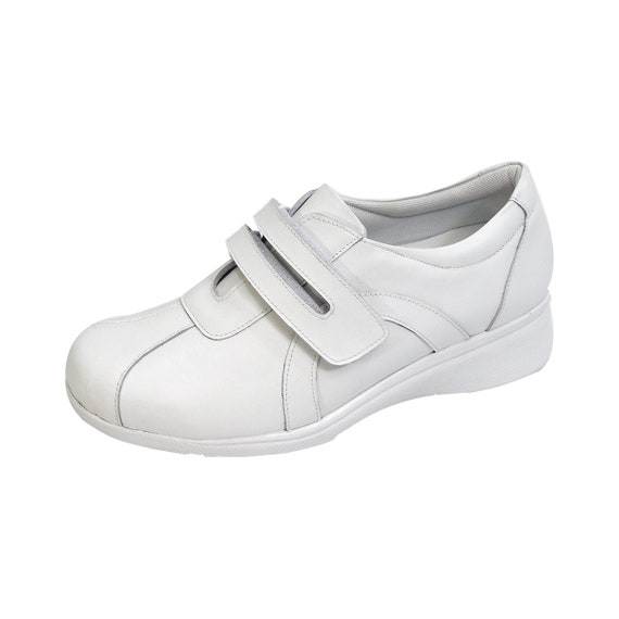 24 Hour Comfort Peggy Women Adjustable Wide Width Step in Loafer Nurse Style