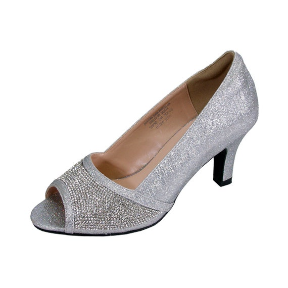 FLORAL Noemi Wide Width Bridal Shoes