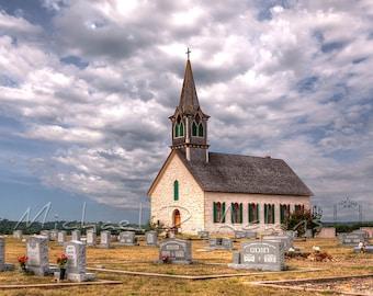 Fine Art Photography, Archival, Photography, Photo, Print, St. Olaf Kirke, Rock Church