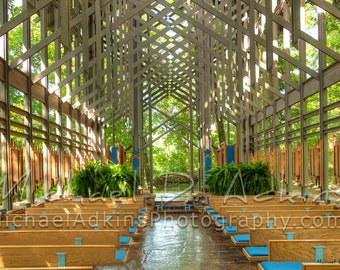 Fine Art Photography, Archival, Photography, Photo, Print, Thorncrown Chapel, Church