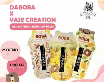 Vase Creation x Daboba All-Natural Boba Bubble Tea Handmade Lip Balm Lip Balm Therapy