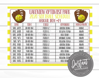 Softball Schedule Template from i.etsystatic.com
