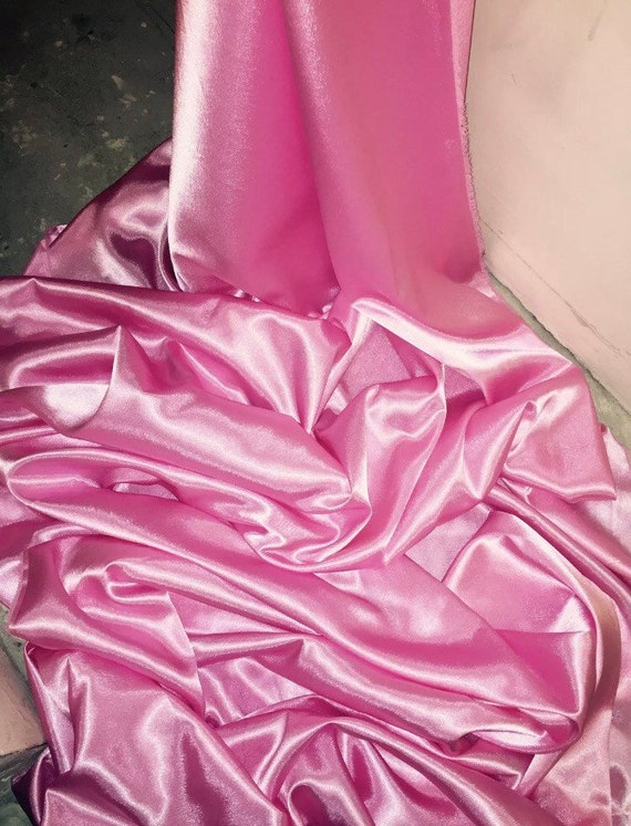 "147cm 1 mtr quality lilac crepe back satin fabric..58"" wide"