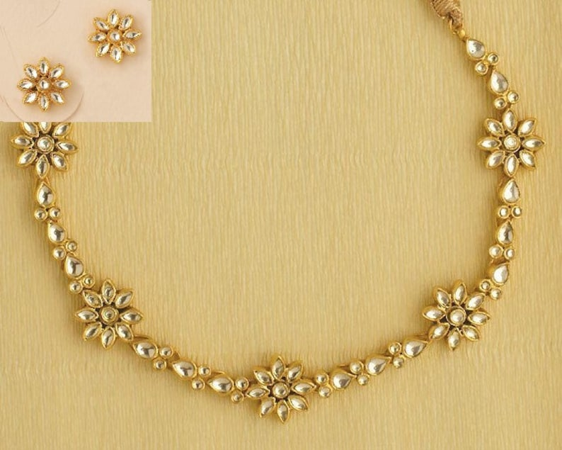 Kundan Jewelry Wedding Jewelry Necklace Indian Bridal Jewelry Sets Sabyasachi Jewelry 925 Silver Kundan Jewelry Bollywood Fashion Jewelry