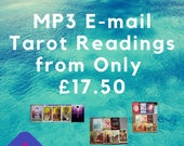 15/30/45/60 Minute MP3 Digital Tarot Reading by E-Mail