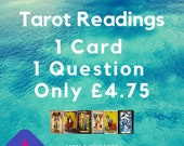1 Question 1 Card: Quick Tarot Reading PDF by E-Mail