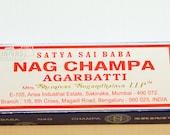 4 x Boxes Satya Nag Champa Incense Sticks
