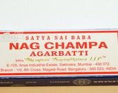 Satya Nag Champa Incense Sticks x 1 or 4