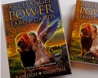 Archangel Power Tarot Cards by Radleigh Valentine. (Hayhouse)