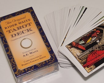 Tarot Card Deck Rider Waite - only authorised edition - 78 cards + booklet