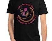 Unisex Eco T-Shirt – Next Level – I'm a Tarot Reader design – Choose black or white