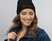 Organic ribbed beanie - lovetarot. design - Choose from 4 colours
