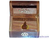 Wooden Incense Cone Burner