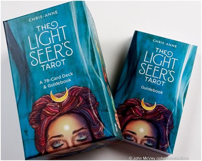 The Light Seer's Tarot  Chris-Anne Hay House image 1