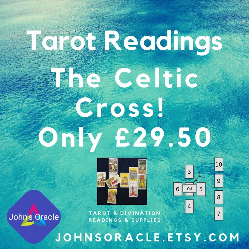 The Celtic Cross  MP3 Digital Tarot Reading by E-Mail image 0