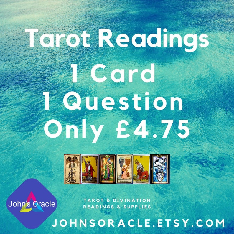 1 Question 1 Card: Quick Tarot Reading PDF by E-Mail image 0